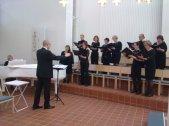 Kansallis-Kuoro Pyhän paimenen kirkossa 13.4.2914