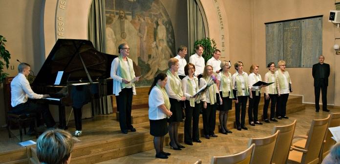 Kansallis-Kuoron kevätlaulelot 28.5.2015 Hotelli Arthurin juhlasalissa