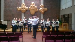 Kevätkonsertti Oulunkylän kirkossa 22.5.2016