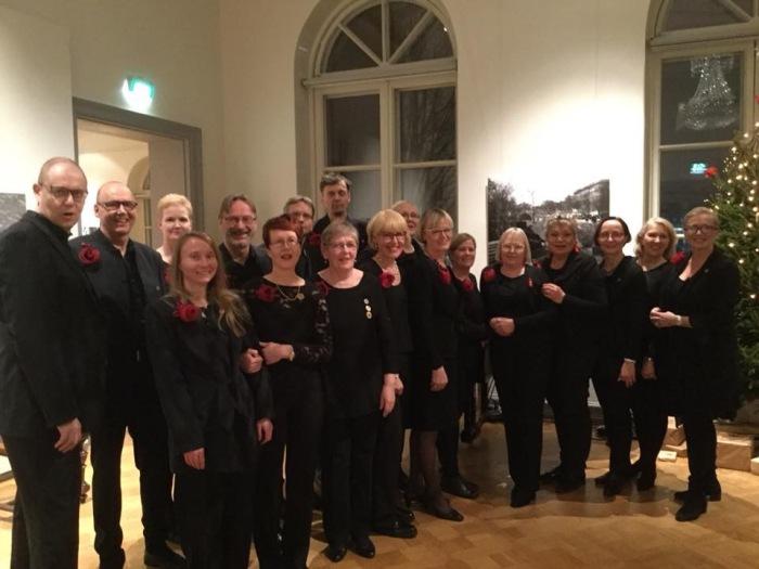 Joulukonsertissa Hakasalmen huvilassa 12.12.2017